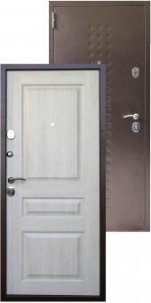 Дверь металлическая MD-46 Дуб кремовый
