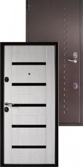 Дверь металлическая MD-41 капучино