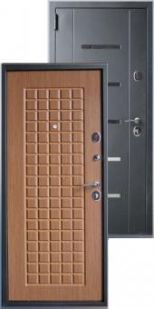 Дверь металлическая MD-45 Дуб кантри