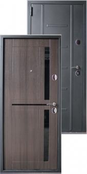 Дверь металлическая MD-42 венге